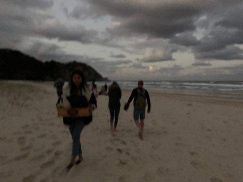 Moon-lit Tallow Beach