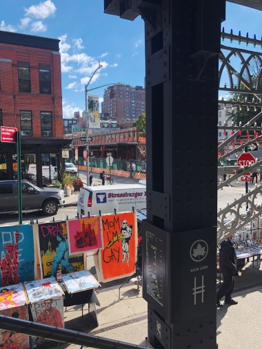 Entry to the Highline