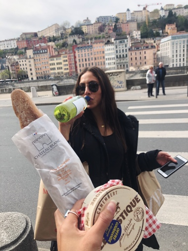 Picnic when in France